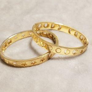 BaubleBar hinge bracelet set